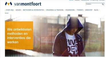 Van Montfoort Project door FluxCode